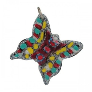 Ceramic Butterfly Pendant