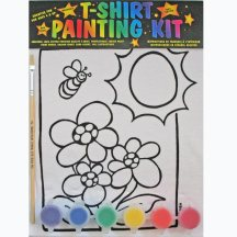 Flower-Power T-Shirt Painting Kit