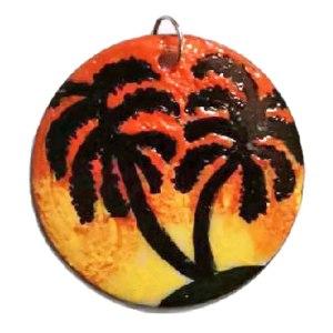 Tropical Sunset Pendant